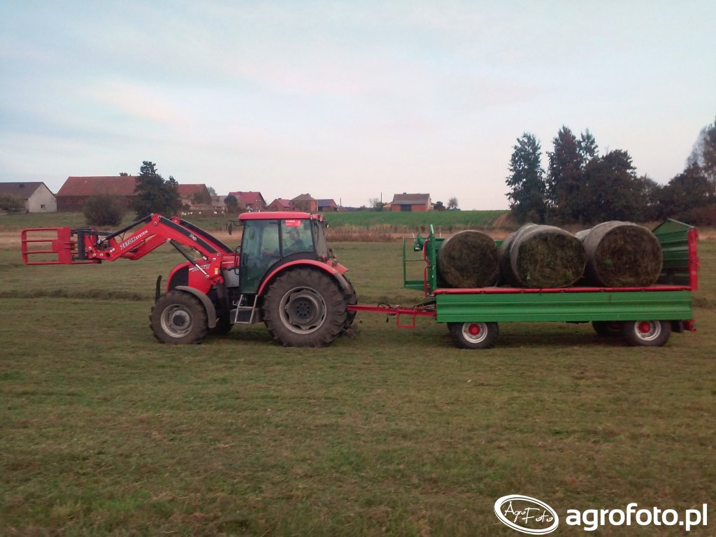 Zetor Proxima 105 power + Alo 46 & Pronar PT608