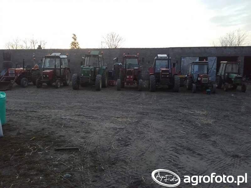 Zetor16145 & Ursus C-360 & Zetor7211 & John deere 3140,Mtz 82 & Ursus C-330