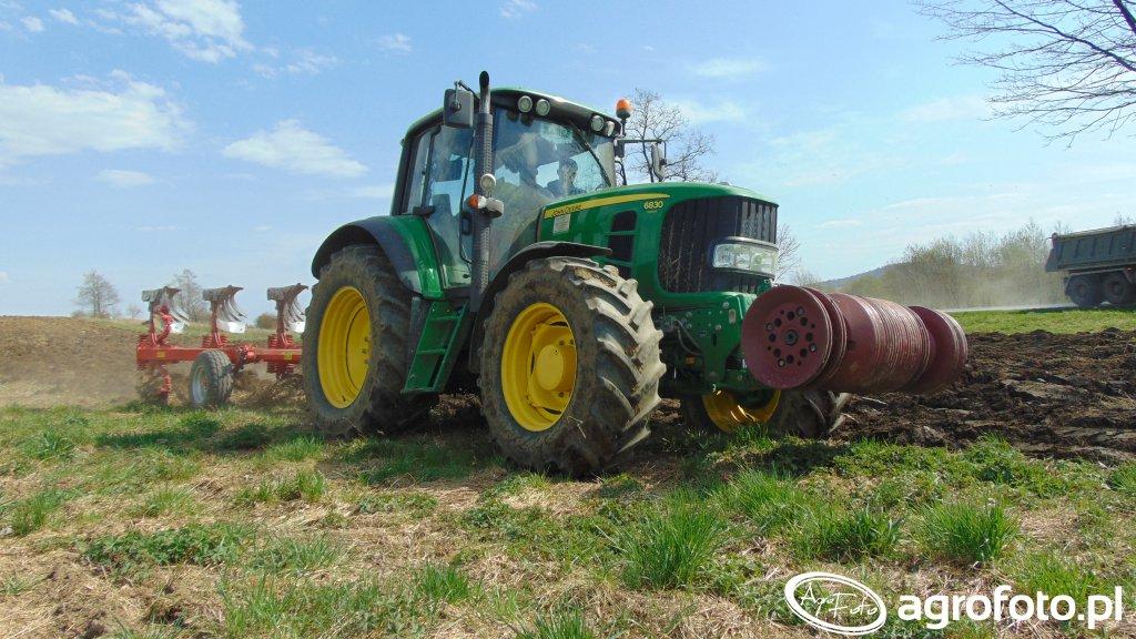 John Deere 6830Premium + Opall-Agri