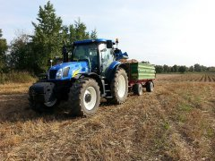 New Holland t6050 Plus i pronar 6t
