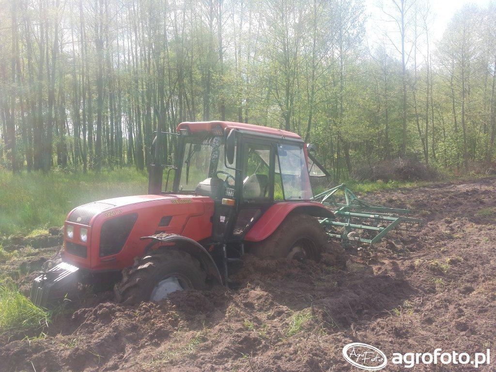 Belarus 920.4 + Agregat 3m