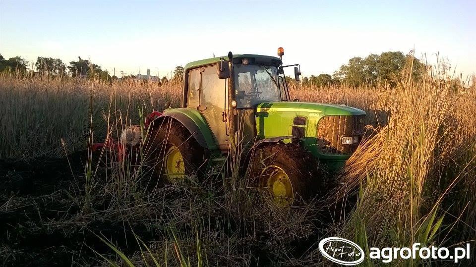 John Deere 6930 + Agro Masz