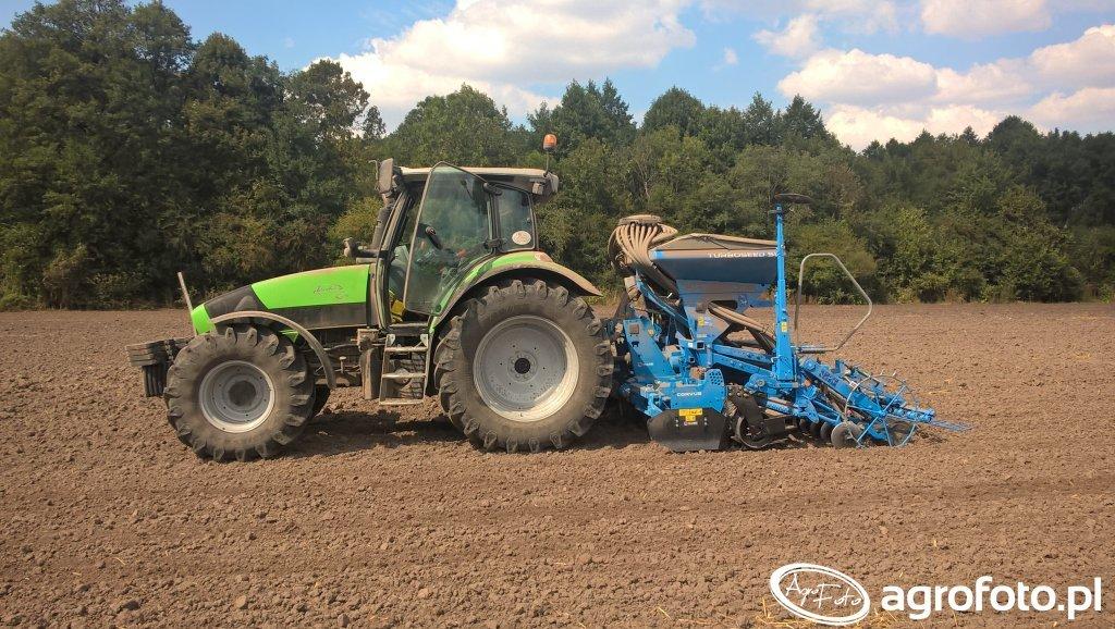 Deutz fahr K610 + Rabe Turboseed