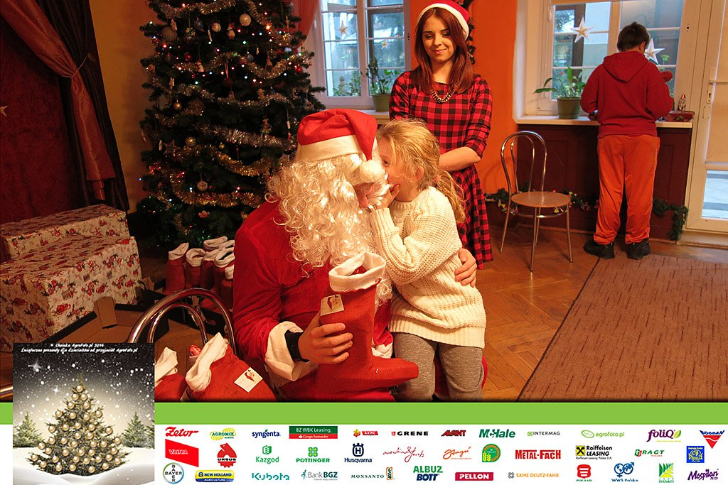 Choinka AgroFoto i Przyjaciele dzieciom 2014
