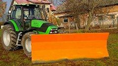 Pług SAM + Deutz Fahr Agrotron 130