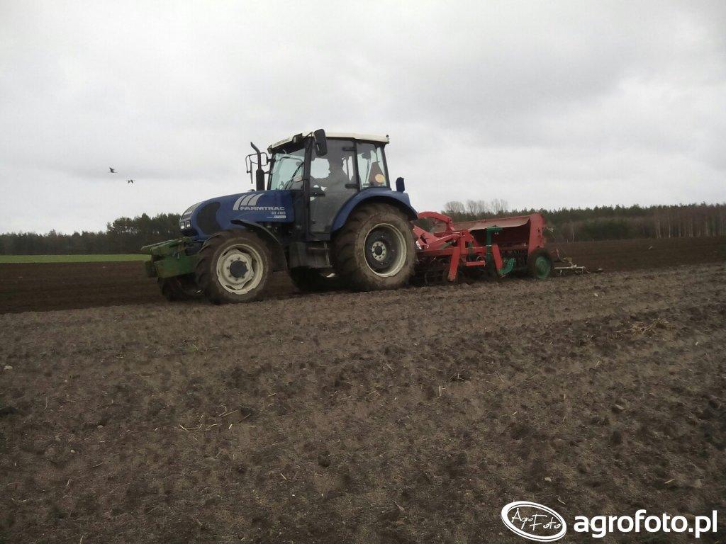 Farmtarc 80 4WD agregat Agromasz i Poznaniak