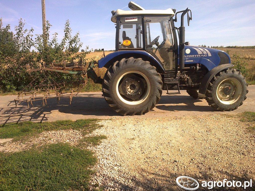 Farmtrac 675 DT + Brony