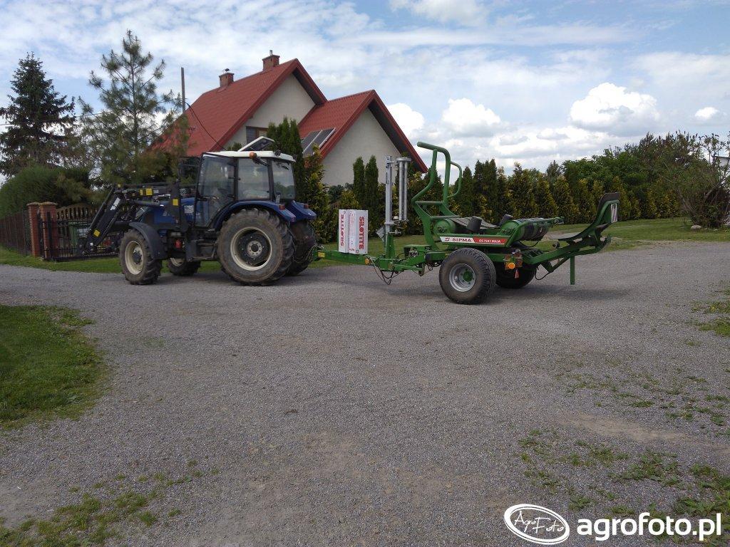 Farmtrac 675 DT & Sipma Maja