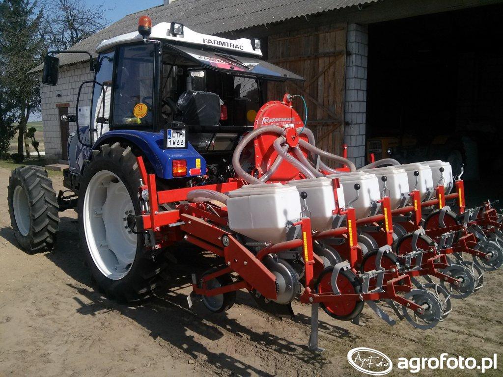 Farmtrac 675 DTN + Demeter Variosem VF6