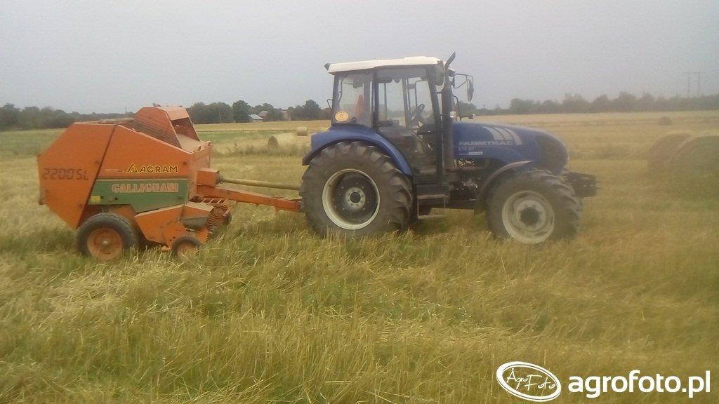Farmtrac 675DT & Gallignani 2200SL