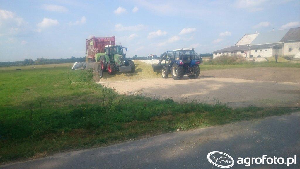 Farmtrac 675dt i Fendt Vario 714