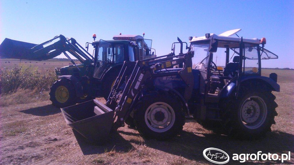 Farmtrac 685 DT & John Deere 6430