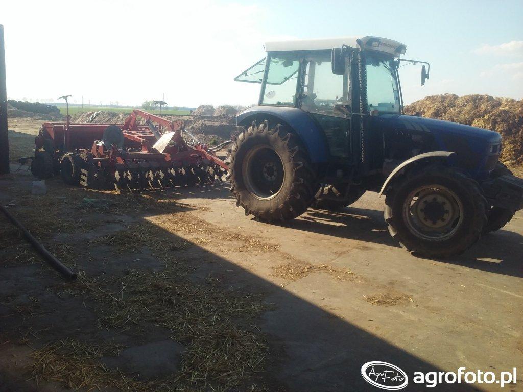 Farmtrac 685DT Limb & Unia Ares L Drive