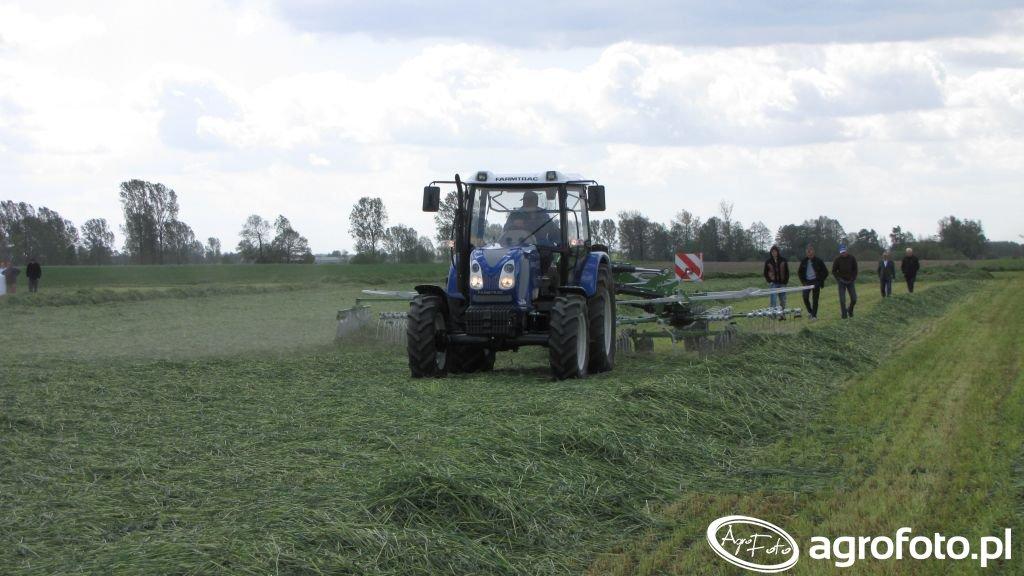 Farmtrac 690DT+ Samasz Tango 730