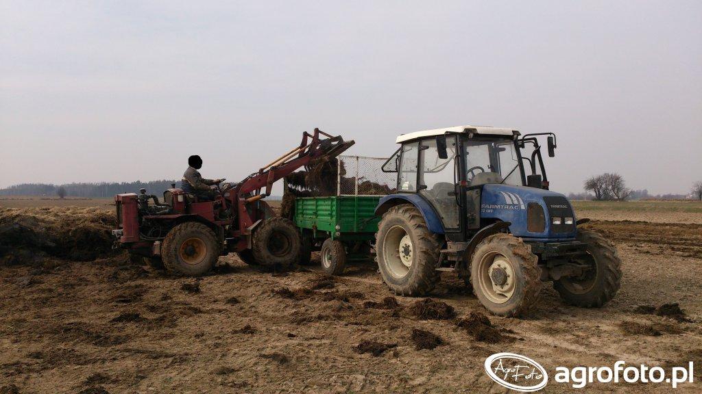 Farmtrac 70 4WD&rozrzutnik 4,5t