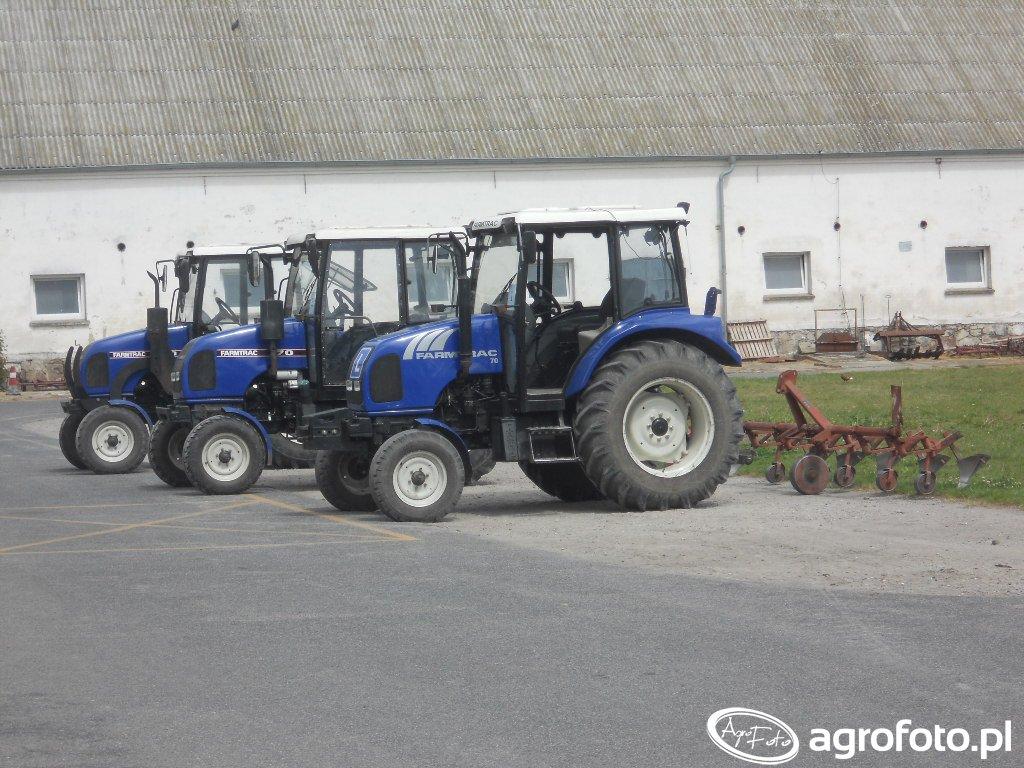 Farmtrac 70 x 3