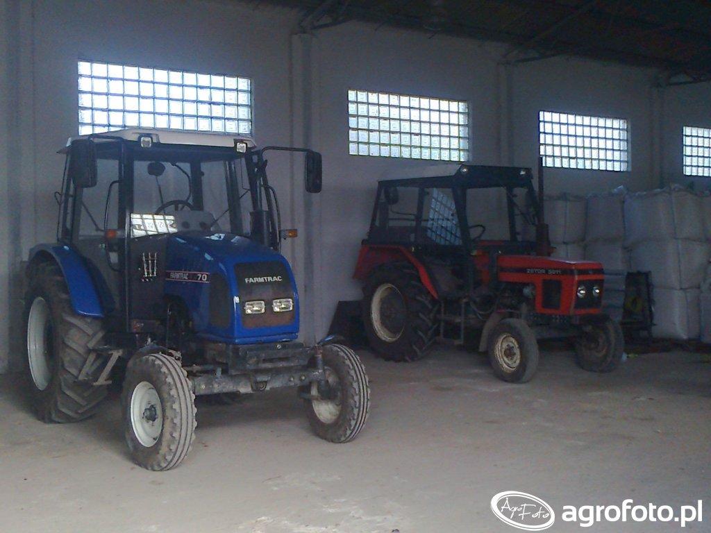 Farmtrac 70 & Zetor 5211