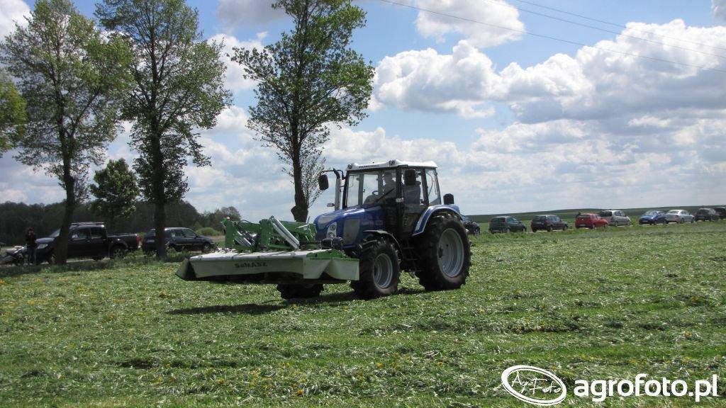 Farmtrac 7100 DT + Samasz KDF300
