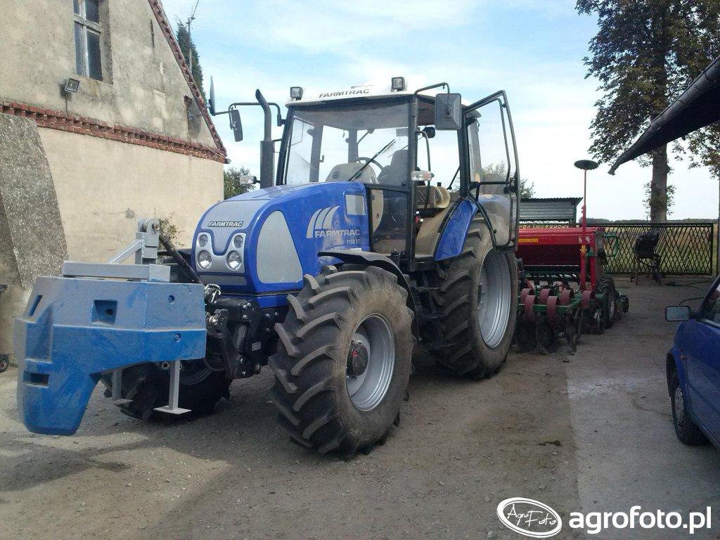 Farmtrac 7110DT+talerzówka+siewnik 3m