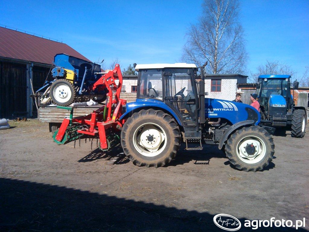 Farmtrac 80 4wd + Agromasz 2.7 + Poznaniak