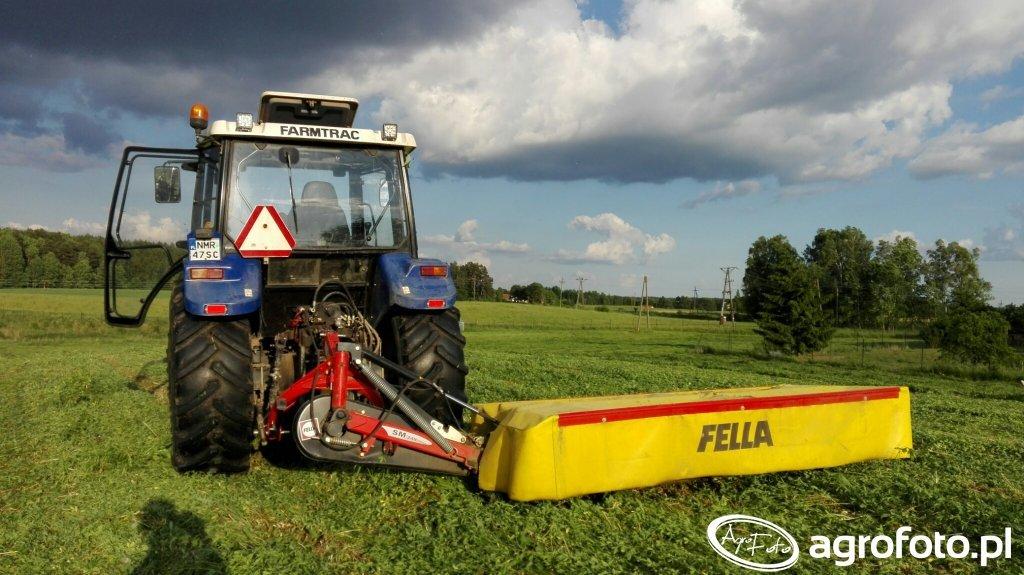Farmtrac 80 4WD& Fella SM248