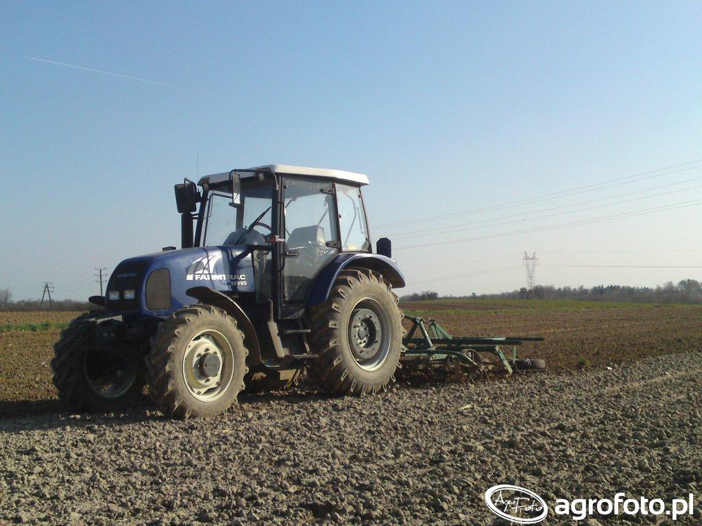 Farmtrac 80 4WD & kultywator
