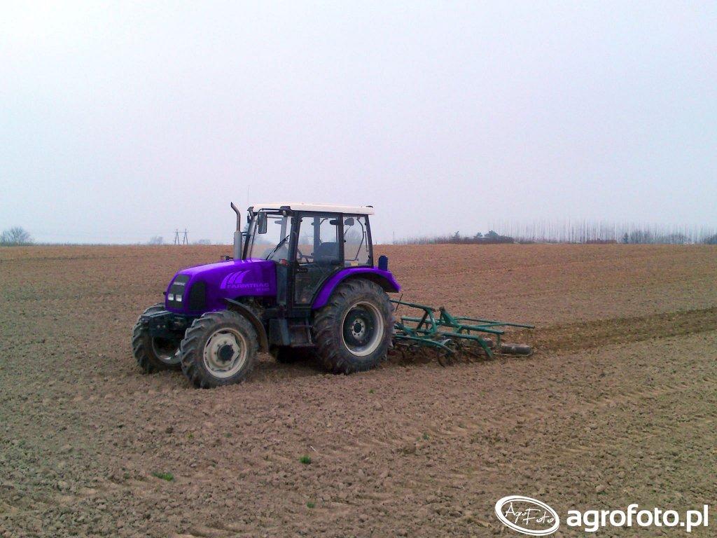 Farmtrac 80 4WD& kultywator