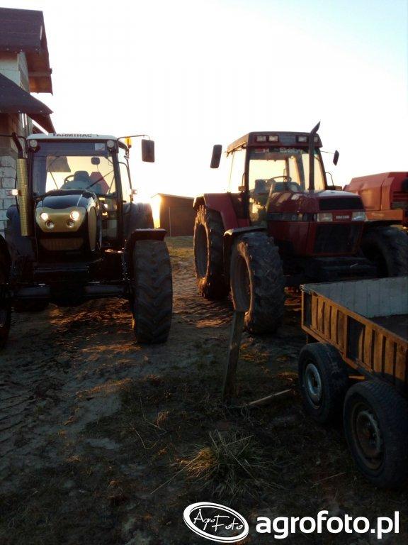 Farmtrac 9120 DTN &  Case 5140