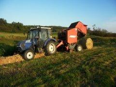 Farmtrac 555 + eurotech CBR 1500L