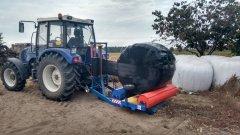 Farmtrac 675dt + owijarka Kinstal