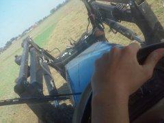 Farmtrac 690 dt + przetrząsacz SaMasz