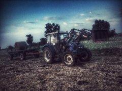 Farmtrac 690dt + Przyczepa HL
