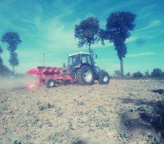 Farmtrac 7110DT & Agro-masz