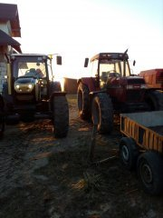 Farmtrac 9120 DTN &  Case 5140
