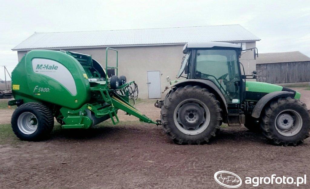 McHale F5400 + DeutzFahr Agrofarm 430