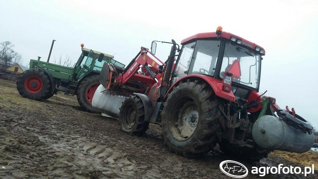 Fendt 312 LSA + farmer 9258 TE