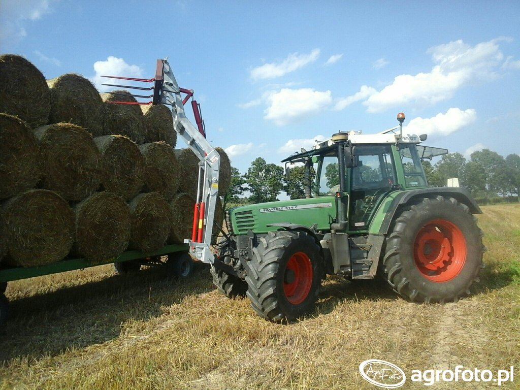 Fendt 514C  & Fliegl