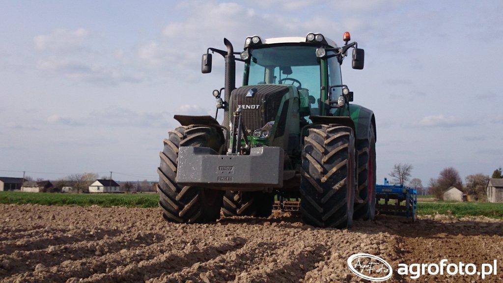 Fendt 822 Vario Profi & Farmet K400