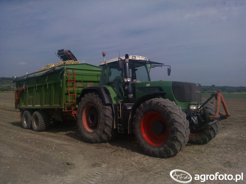 Fendt 920 Vario Tms& Pronar T669/1