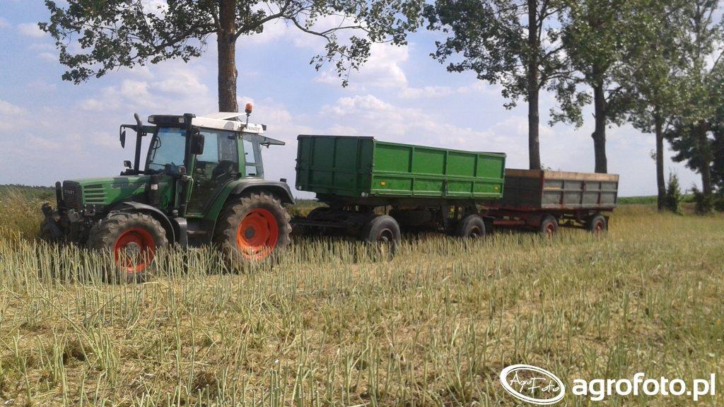 Fendt Farmer 307c + HL 8011 i HL 6011
