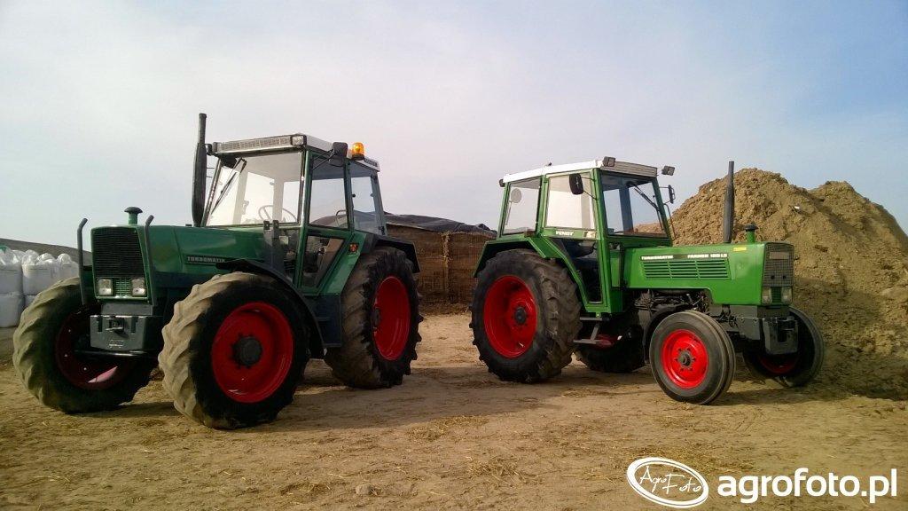 Fendt Farmer 309 LS Turbomatik i Fendt Farmer 105 LS Turbomatik