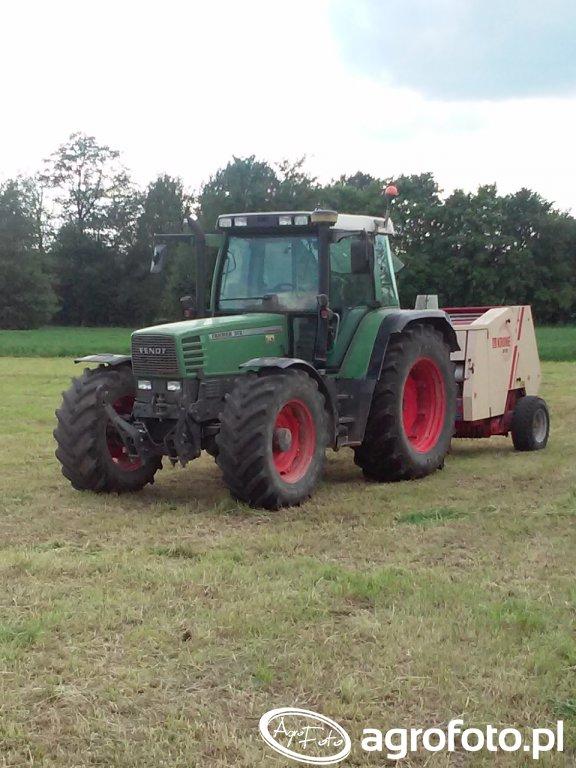 Fendt Farmer 312 + Krone KR 125