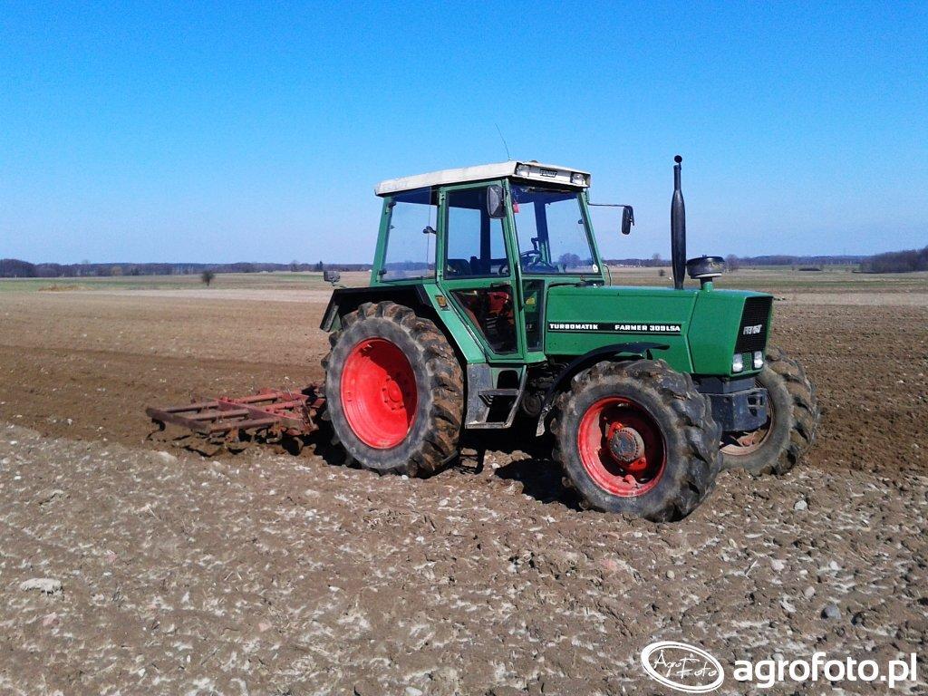 Fendt Farmer & Kultywator 3,6m