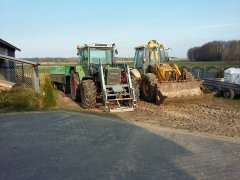 Fendt 310 & Jcb 4cx