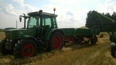 Fendt Farmer 308C+przyczepa