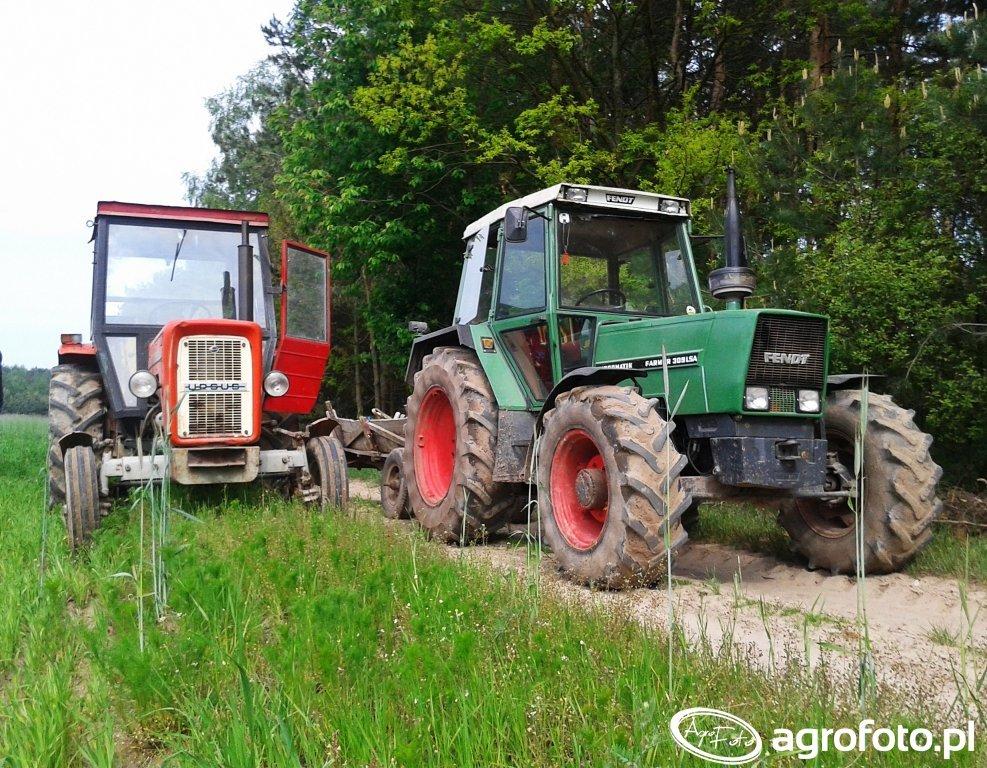 Ursus C-360 & Fendt Farmer 309