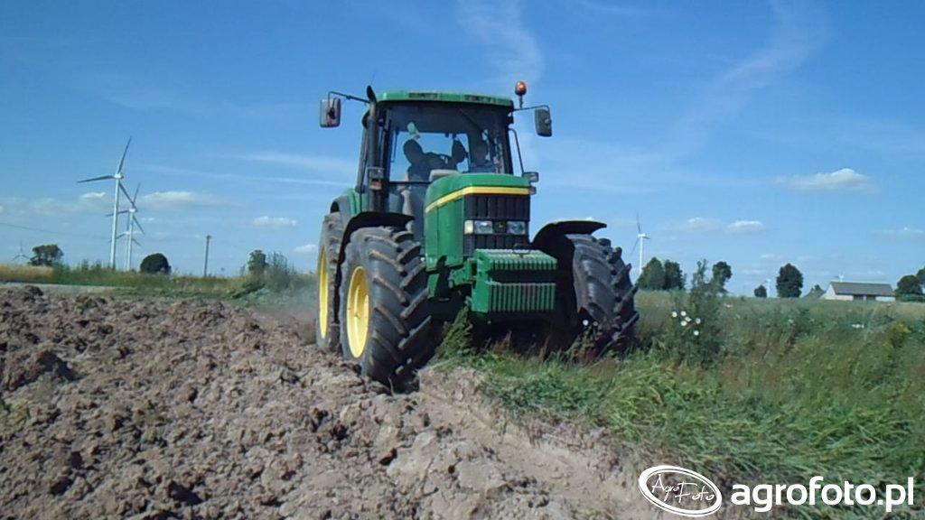 John Deere 6910 + Kverneland ES95