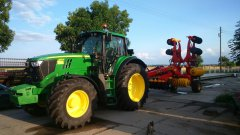 John deere 6170M+ carrier 420