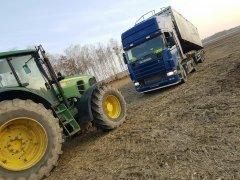 John Deere 7530 & Scania