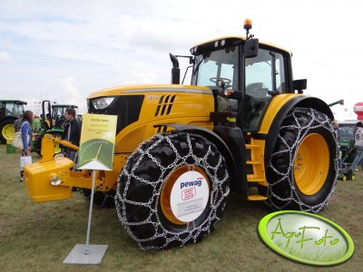 Ciągnik John Deere 6170 M - wystawa rolnicza Agro Show 2013